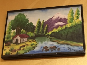 Natural scenic painting