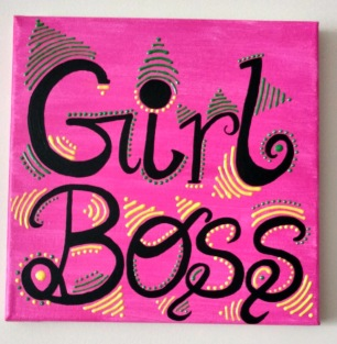 Girl Boss canvas (2)